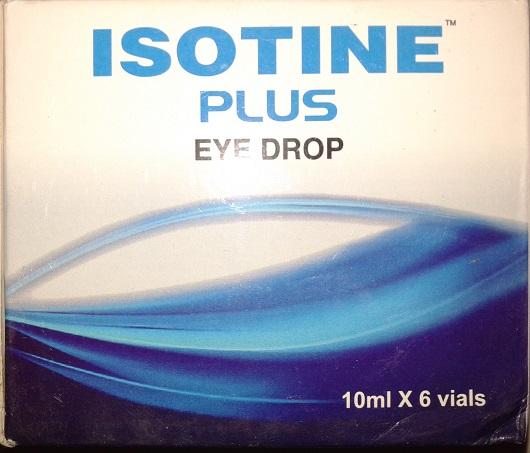 Isotine Plus Eye Drops